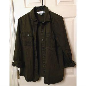 Olive Green Classic Shirt